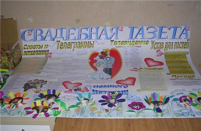 Плакат родителям на годовщину свадьбы своими руками